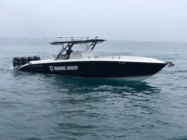 Midnight Express 39 Center Console