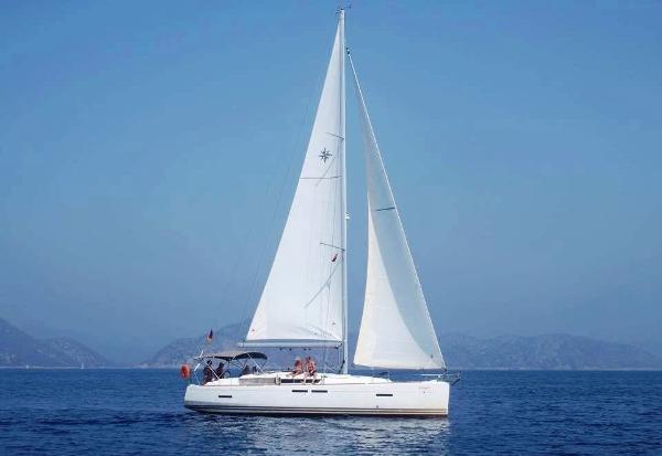 Jeanneau Sun Odyssey 409 Starboard profile