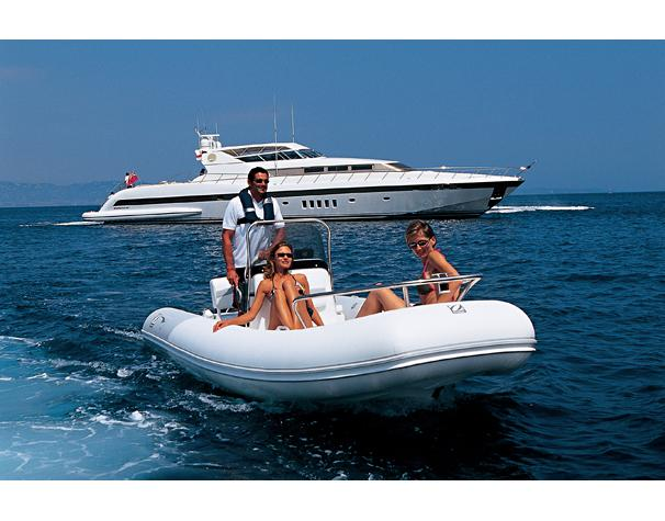Zodiac RIB Yachtline Deluxe 530 Manufacturer Provided Image