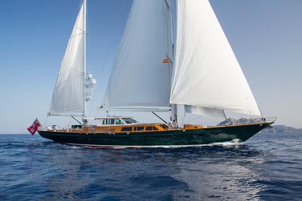 Palmer Johnson 110ft Pilothouse C/B Ketch Sailing