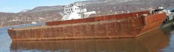 Commercial 140' x 40' x 11.5' Deck Barge