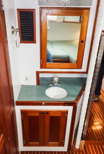 Vanity - in Owner's Stateroom