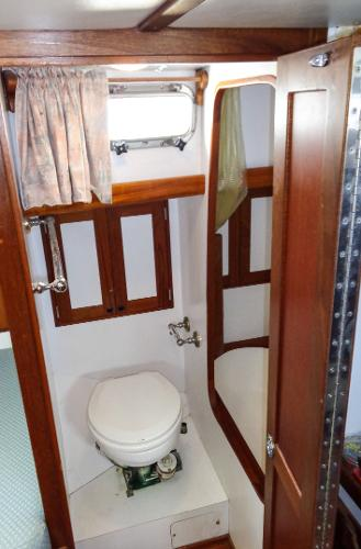 Owner's Head -with Shower Stall