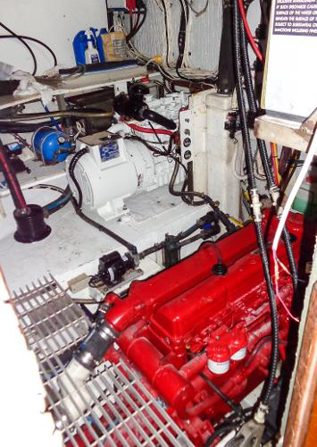 Engine Room  --clean and functional
