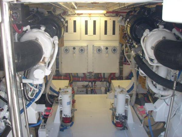 Engine Room Forward View