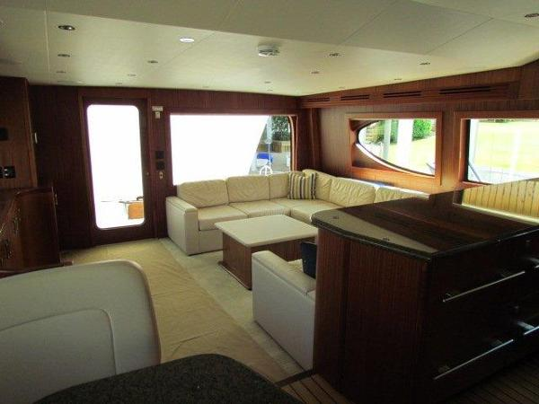 Salon Aft View