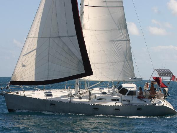 Antarctic Aluminum Sailboat Custom Sailing