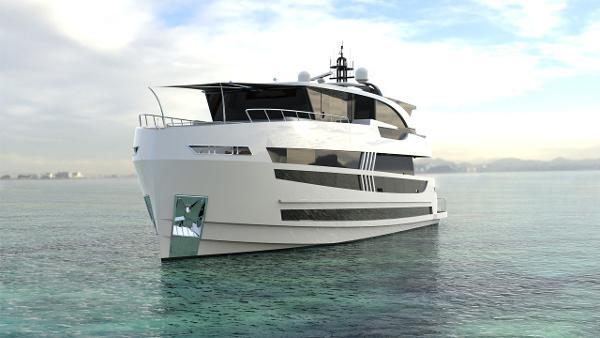Lazzara Yachts UHV 87 Manufacturer Provided Image