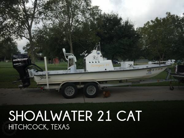 Shoalwater 21 Cat 2012 Shoalwater 21 CAT for sale in Hitchcock, TX