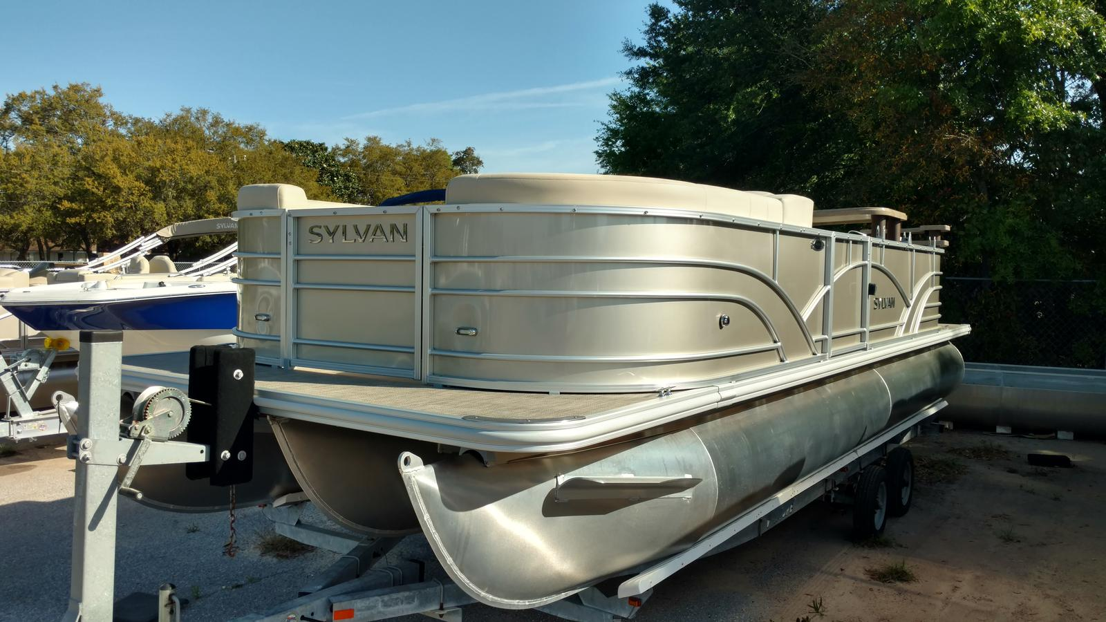 Sylvan mirage cruise 8522 lz pb boats for sale for Syvlan