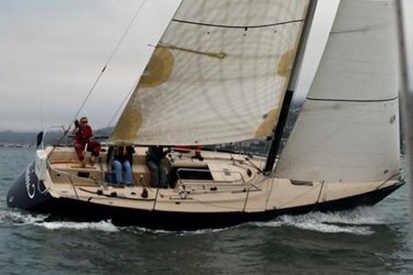 Tartan  10 sloop under sail
