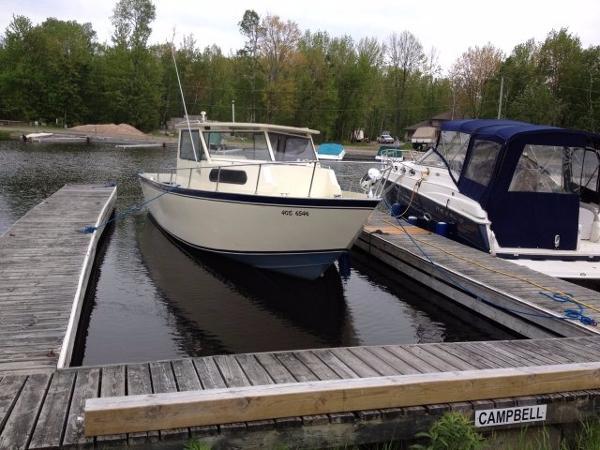 CUSTOM BUILT Welded Aluminum Work Boat/ Fishing Boat