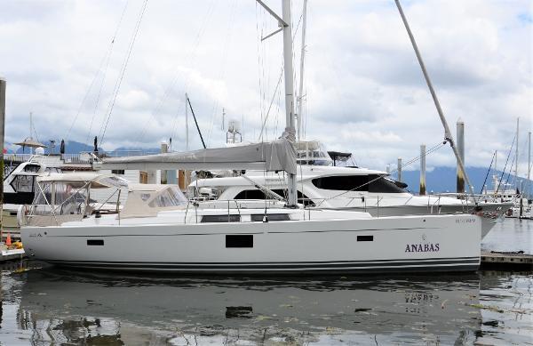 Hanse 455 Starboard Profile Main