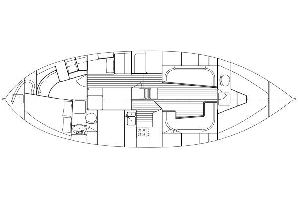Forward cabin layout