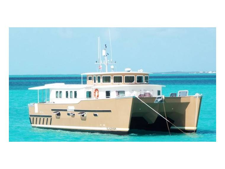 HERVE Herve Expedition Power Catamaran