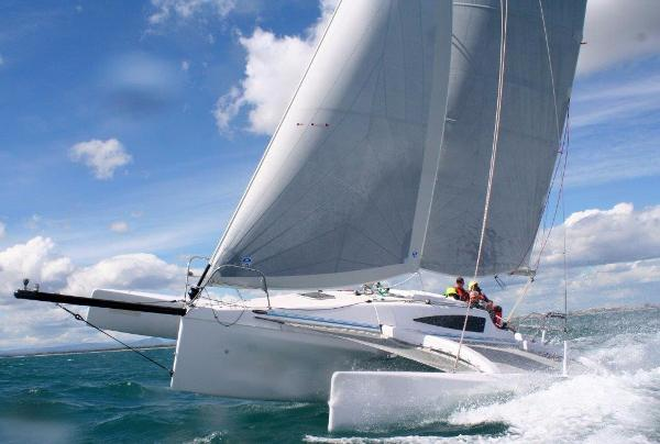 Corsair Cruze 970 Manufacturer Provided Image: Corsair Cruze 970 Sailing