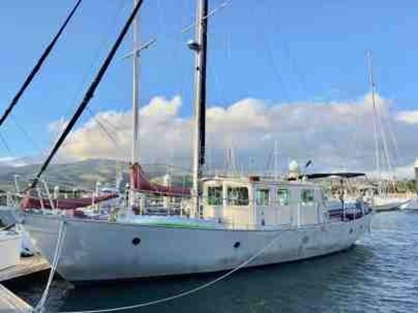 Custom Pilothouse Motor Sailer