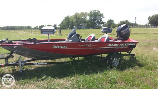 Bass Tracker 17 2014 Bass Tracker Pro 17 for sale in Whitesboro, TX