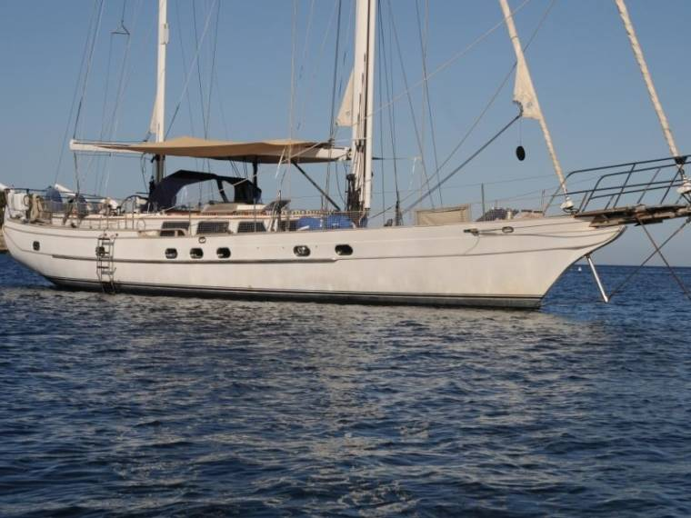 Ta Chiao Scorpio 72 Very attractive cruising yacht.NEVER