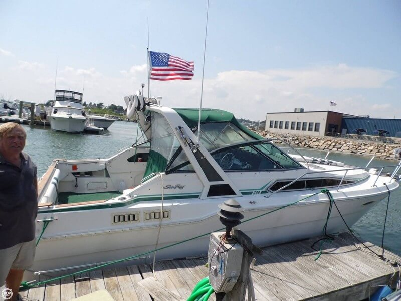 Sea Ray 300 Sundancer 1989 Sea Ray 300 Sundancer for sale in Winthrop, MA