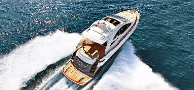 Queens Yachts 45 hard top