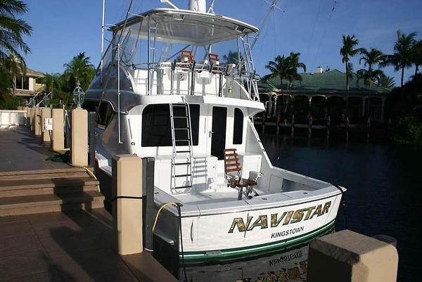 Hatteras 60 Convertible Main Profile