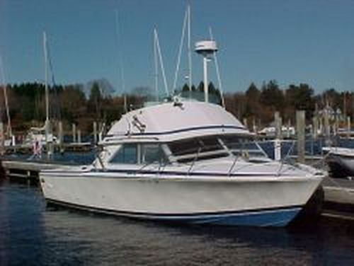 Bertram 28 Flybridge CRUISER Bertram 28' Flybridge Cruiser