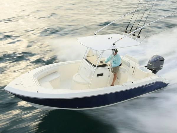 Cobia Boats 237 Center Console Manufacturer Provided Image