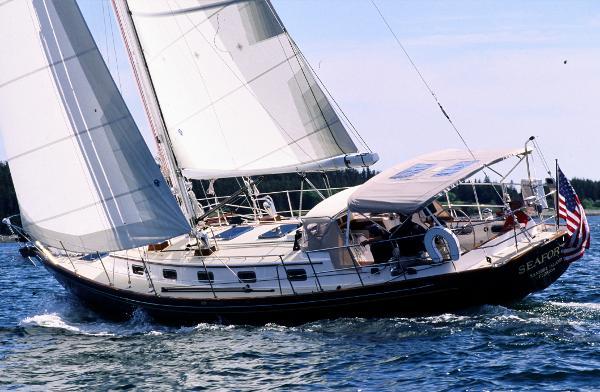 Morris Yachts Ocean Series 46 Starboard tack