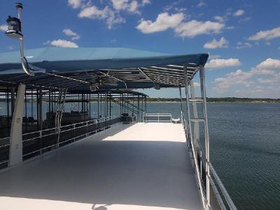 Sailabration pontoon houseboat