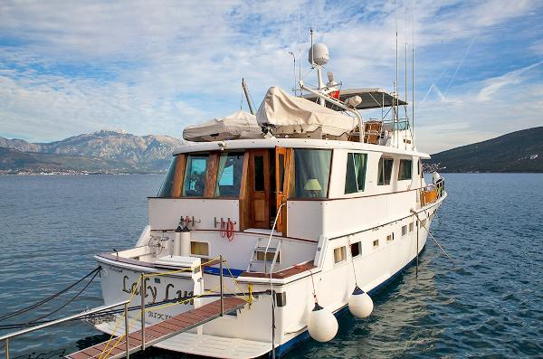 Hatteras 75 For Sale