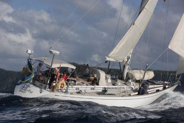 Nautor Swan 59-011 Thindra sailing