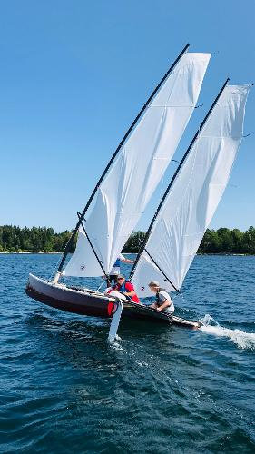 Custom Hobie Cat Bi-Plane Rigged