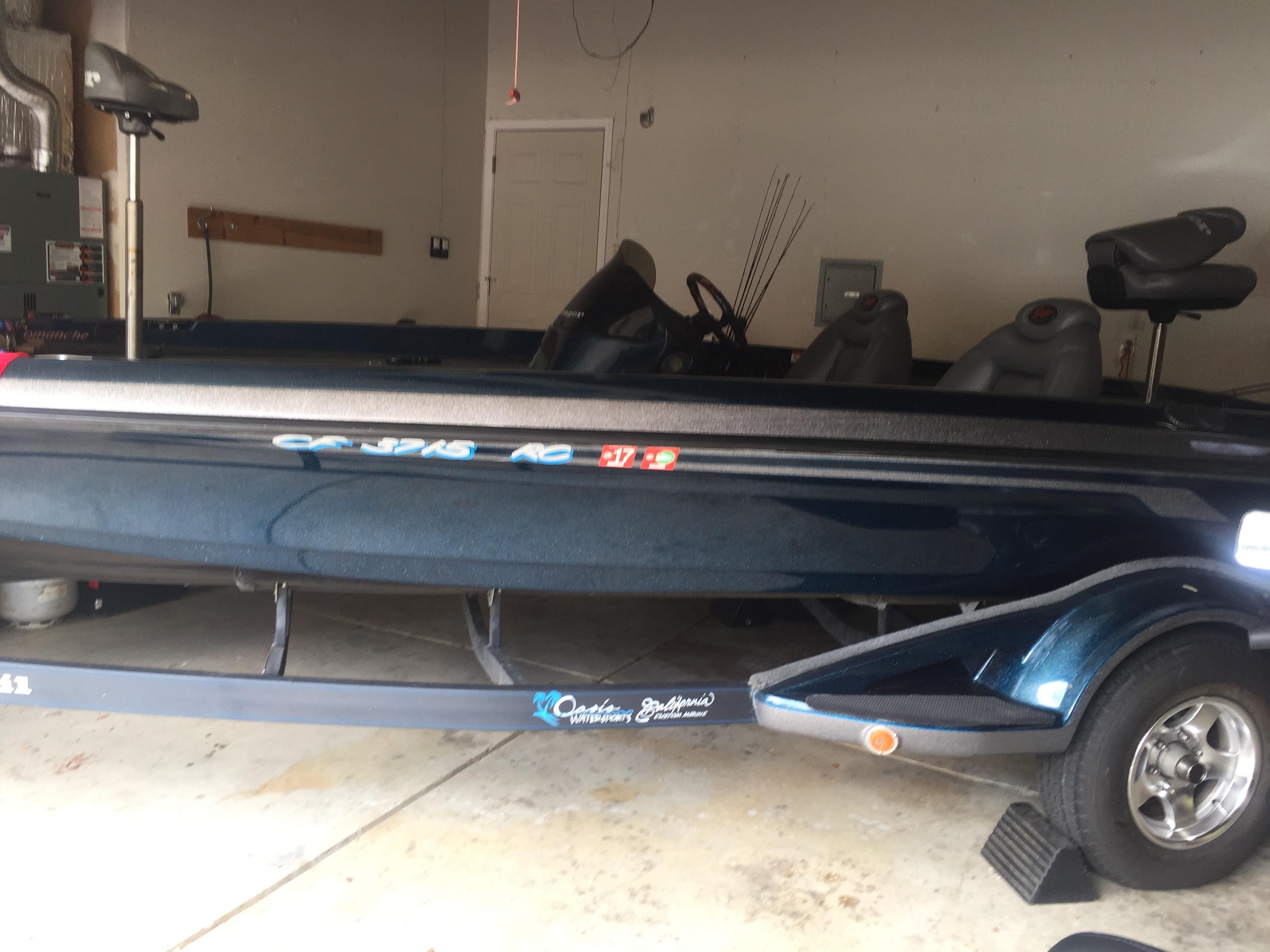 2003 ranger comanche bass boat