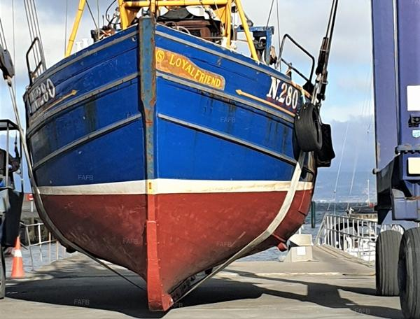 Trawler Fishing Vessel Traditional wooden trawler for sale with BJ Marine