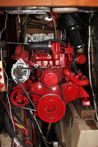 63-HP Westerbeke diesel