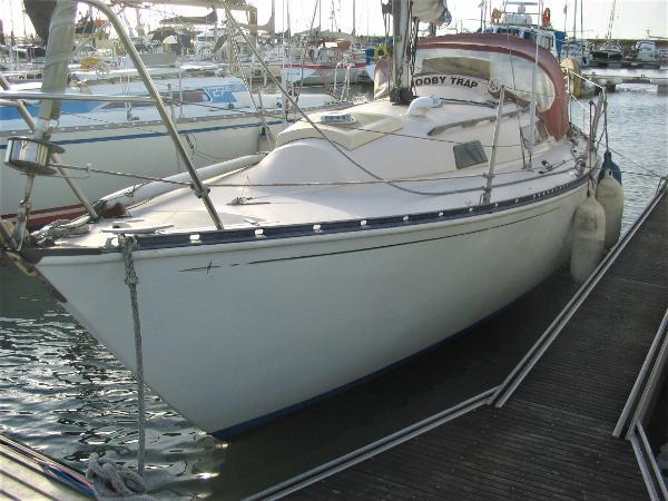 Trapper 500 On home berth
