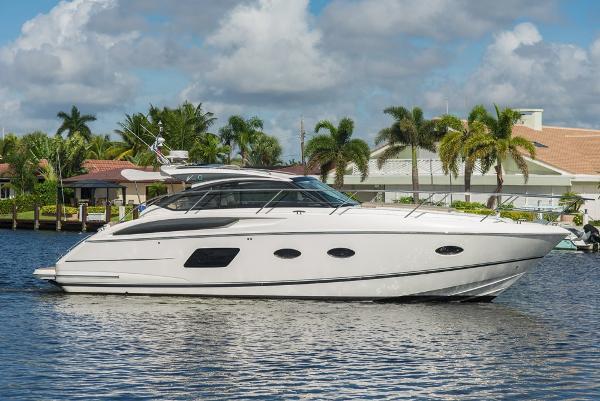 Princess 39 V39 Starboard Profile