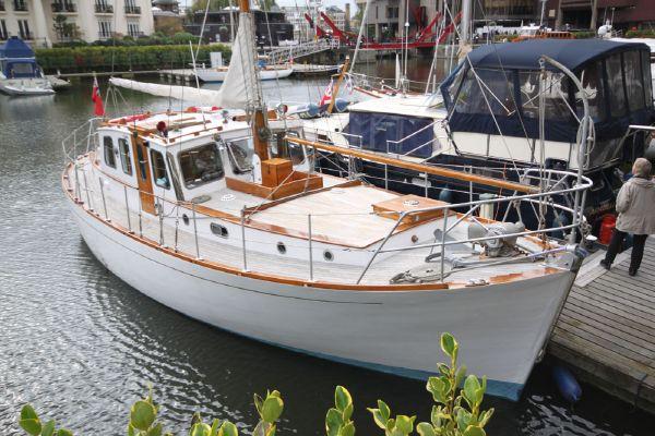 G L Watson Spey Class Motor Sailer