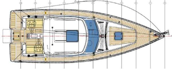 Albatross 37 Deck Layout Plan