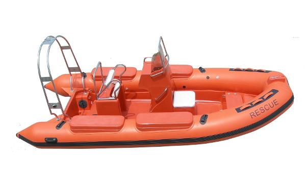 Piranha P550 Club Rescue RIB