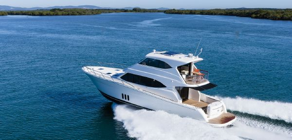 Maritimo M58 Manufacturer Provided Image: Maritimo M58 Stern