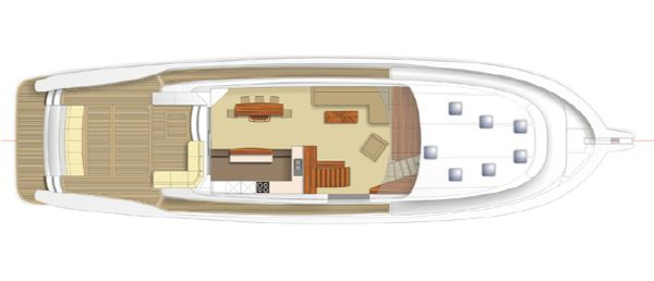 Maritimo M73 Layout Mid Level GA