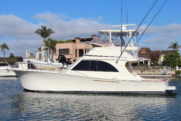 Jersey 47 Convertible Sportfisherman Port Profile