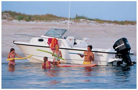 Boston Whaler 205 Conquest Manufacturer Provided Image