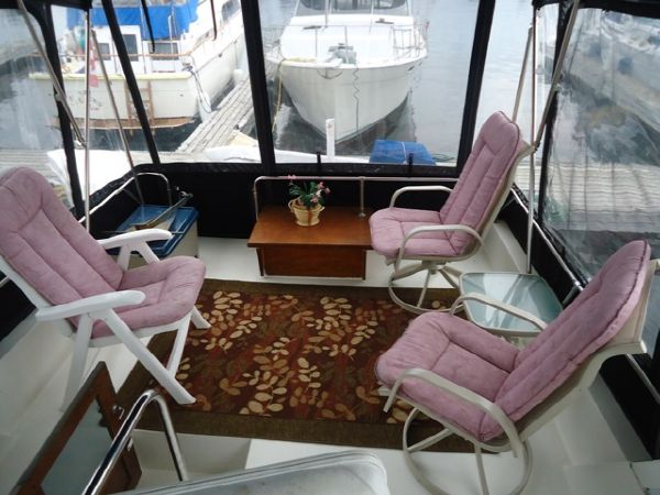 Seating on Aft Deck