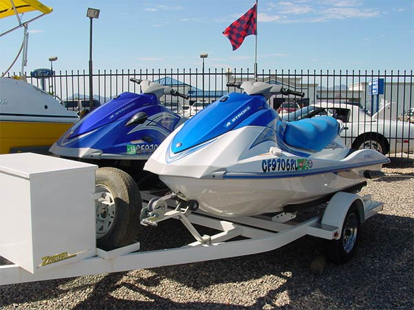 Yamaha PWC & Trailer Package