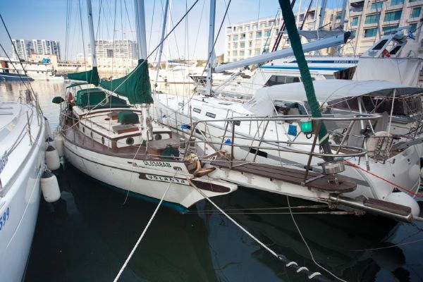 S/Y Yolanta CT 41' Starboard Side