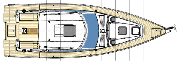 Albatross 42 Deck Layout Plan