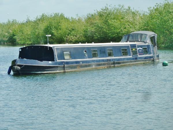 Aqualine Canterbury Widebeam Narrowboat